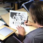 Renowned comic book artist Peter Gross